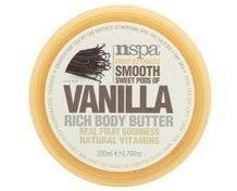 N-spa By Nirvana Spa Vanilla Rich Body Butter with Real Fruit Goodness and Natural Vitamins, 200 Ml, 6.76 Ounces