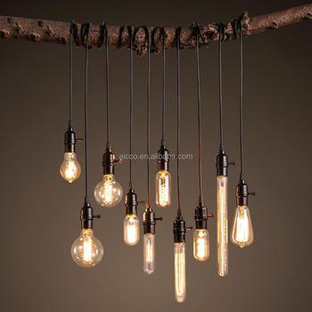 Decorative Hanging Pendant Light Vintage Industrial Loft Edison