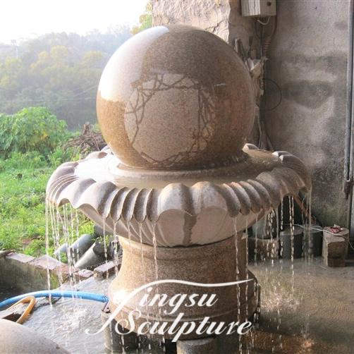 Hot Marble Floating Ball Water Fountain