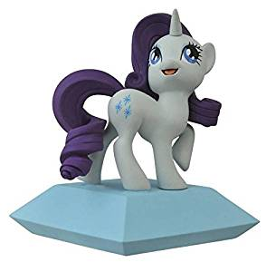 Diamond Select Toys Friendship is Magic: Rarity Vinyl Bank: My Little Pony Statue, Model: SEP142257, Toys & Play
