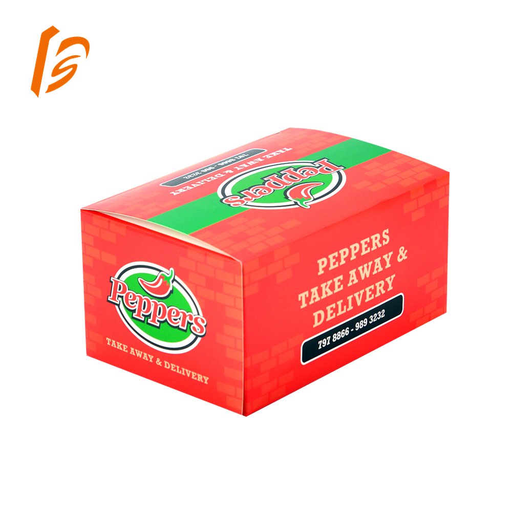Custom printed paper fried chicken boxes food packaging boxes