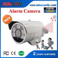 2MP Waterproof IP66 Sony IMX322+Hi3518C Alarm POE IP Bullet Camera Color Night Vision better than starlight camera