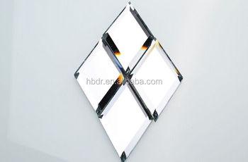 Piastrelle specchio smussato all ingrosso per pareti e backsplash