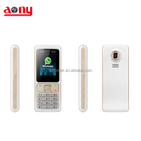 Low price cellulares phone 2 sim card with whatsapp bluetooth FM MP3 MP4 Haiti cellular phone