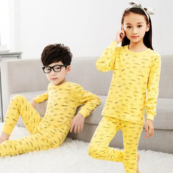 f17d246b3160 Children Sleepwear Cookies Set Girls Pajamas Kids Heart Pajamas ...