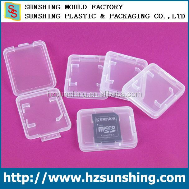 Memory Card Storage Case Holder for SD SDHC MMC Micro SD Cards package