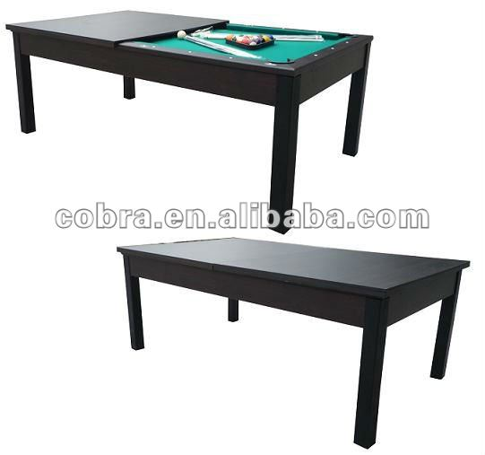 Producers supply Sports & Entertainment pool table series functional billiard dinner table