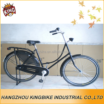 China High Quality 26 Aluminium Black Japanese City Bike With