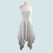 Fashion Women Clothes sexy white Causal lace dress Ladies simple fashion dress 2017 with an exposed back