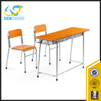 school desk and chair combo. Low Price School Furniture Student Double Table Seat Combo College Desk Chair And