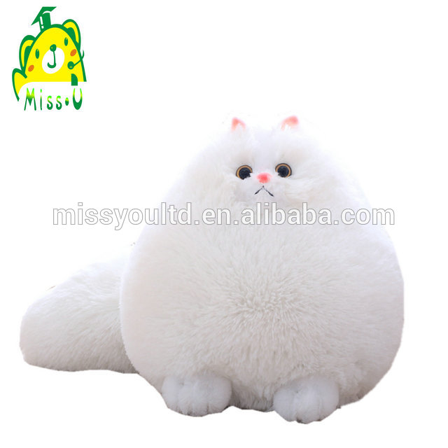Missu Long plush Pussy toy stuffed cat toy with Big Sequins eyes