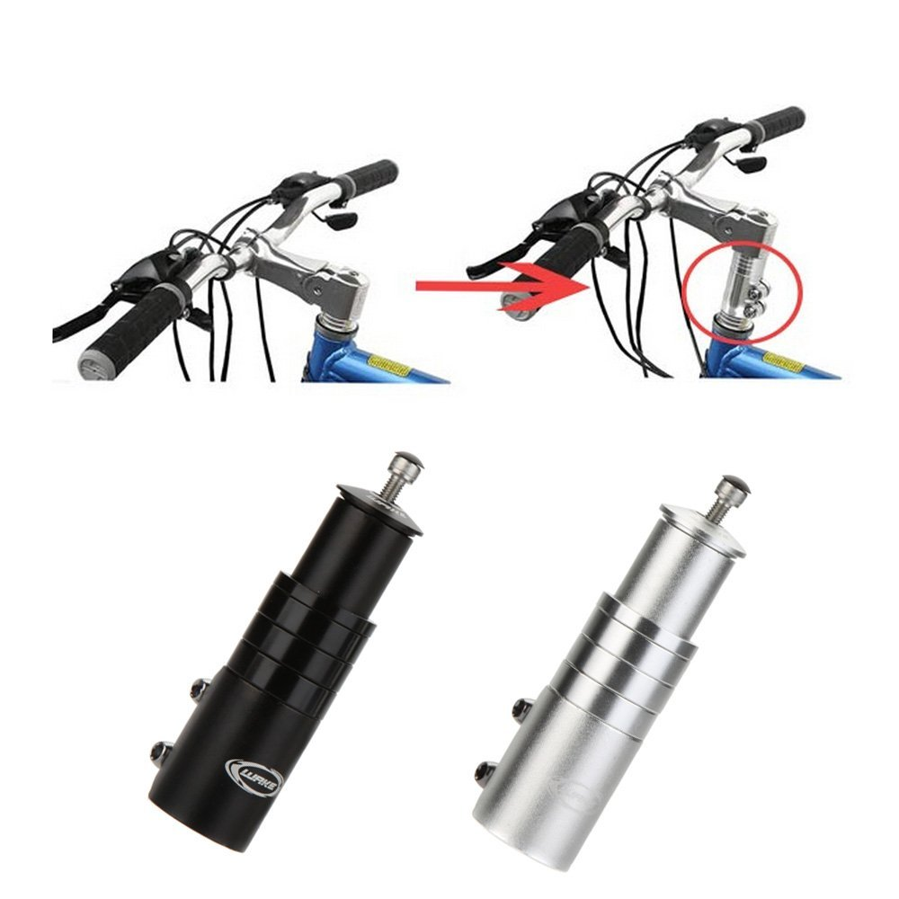 EverTrust(TM) Aluminum Alloy Bicycle Stem Increased Control Tube Extend Handlebar Stem Heighten Bike Front Fork Bicycle Parts Accessories