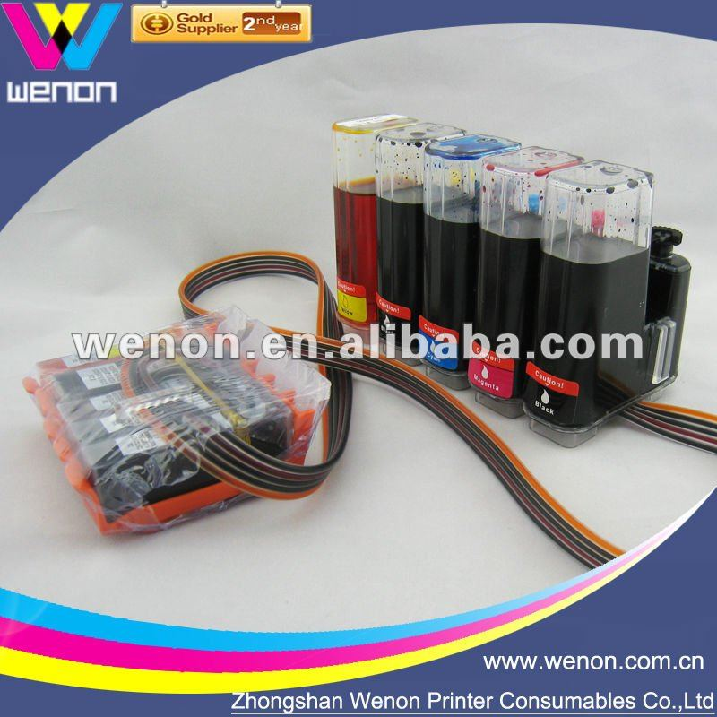 CISS for Canon PIXMA Ip 4200/ Ip 4300/ Ip 5200 5 Color CISS