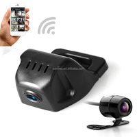 2018 Newest FHD Dual Record Dash Cam with WIFI Function and Dual storage