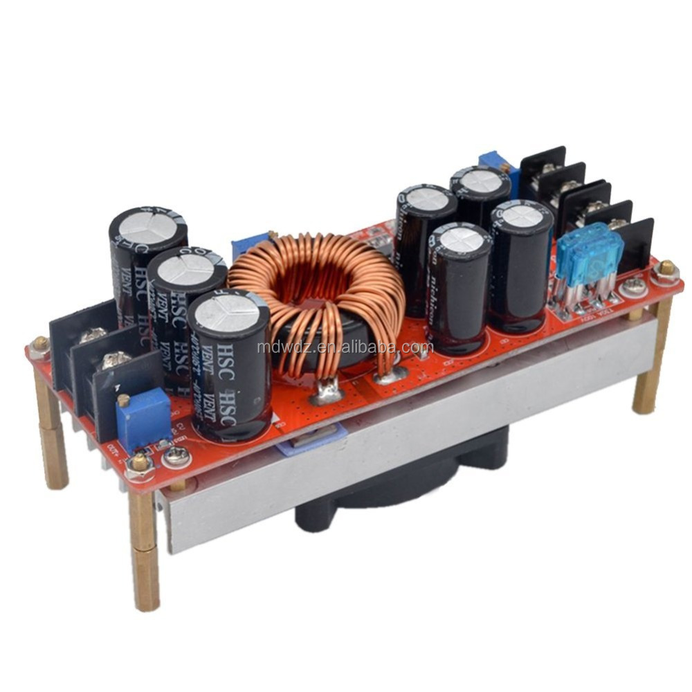 1200W 20A DC Boost Converter Step-up Power Supply Module In10~60V Out 12~83V New Electric Unit Modules Module