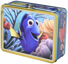 kids used pencil or lunch rectangle common style tin box