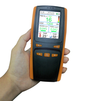 Portable Detector Gas CO2 Meter DM509 Air quality monitoring system PM2.5 dust detector