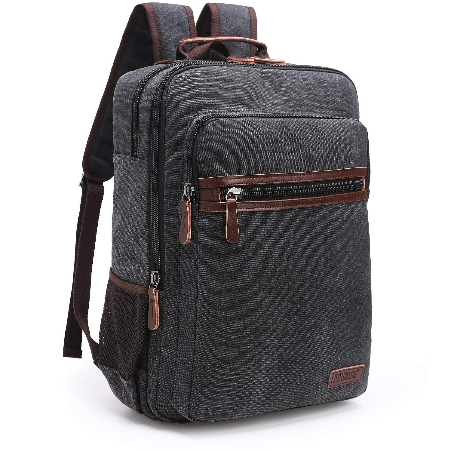145b2af5c1 Get Quotations · Oflamn Canvas Backpack
