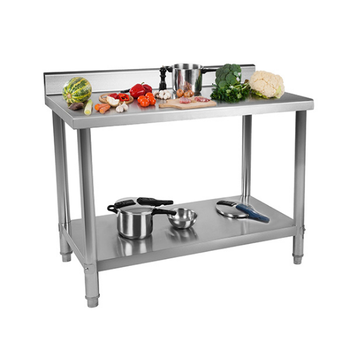 Commercial Stainless Steel Top Kitchen Work Prep Table - Buy Work  Table,Kitchen Prep Table,Commercial Stainless Steel Top Worktable Product  on ...