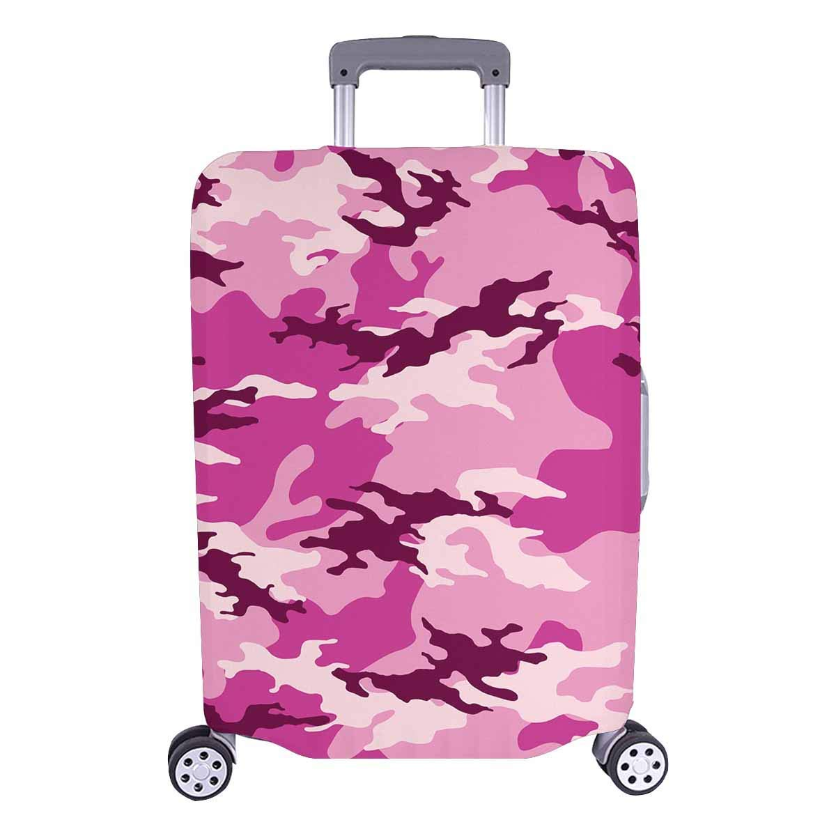 fbce5e3af9e0 Get Quotations · InterestPrint Travel Luggage Protectors Suitcase Covers  Camouflage Pattern Fit 18-28 Inch Luggage