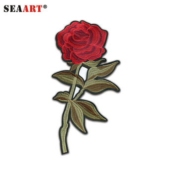 Custom Embroidery Designs Rose Flower Buy Embroidery Designs