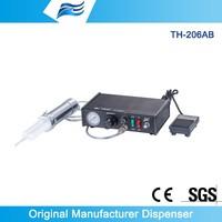 TH-206AB epoxy dispenser meter mix,epoxy glue two part mixer