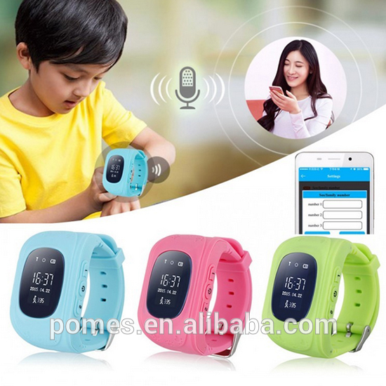 Oled Q50 Kids GPS Smart Watch For Baby, Children wrist watch gps tracking device