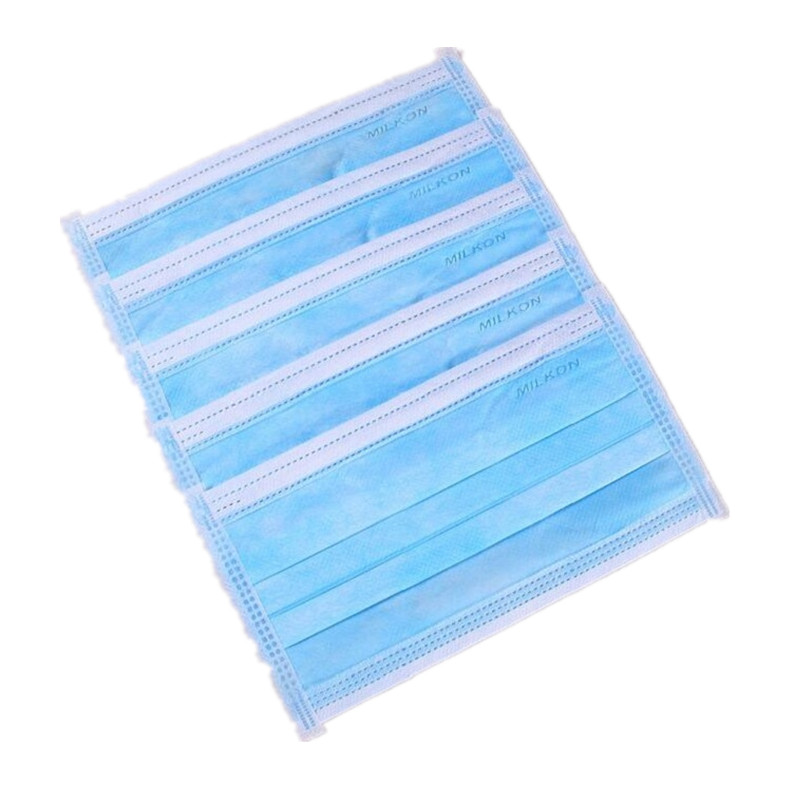 3 Ply Ear Loop Blue / White Color medical mask Disposable face mask