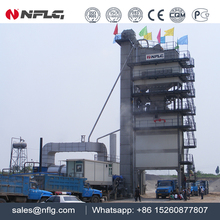 Quality authentic road construction equipment batch hot mix asphalt plant with 25 years experience