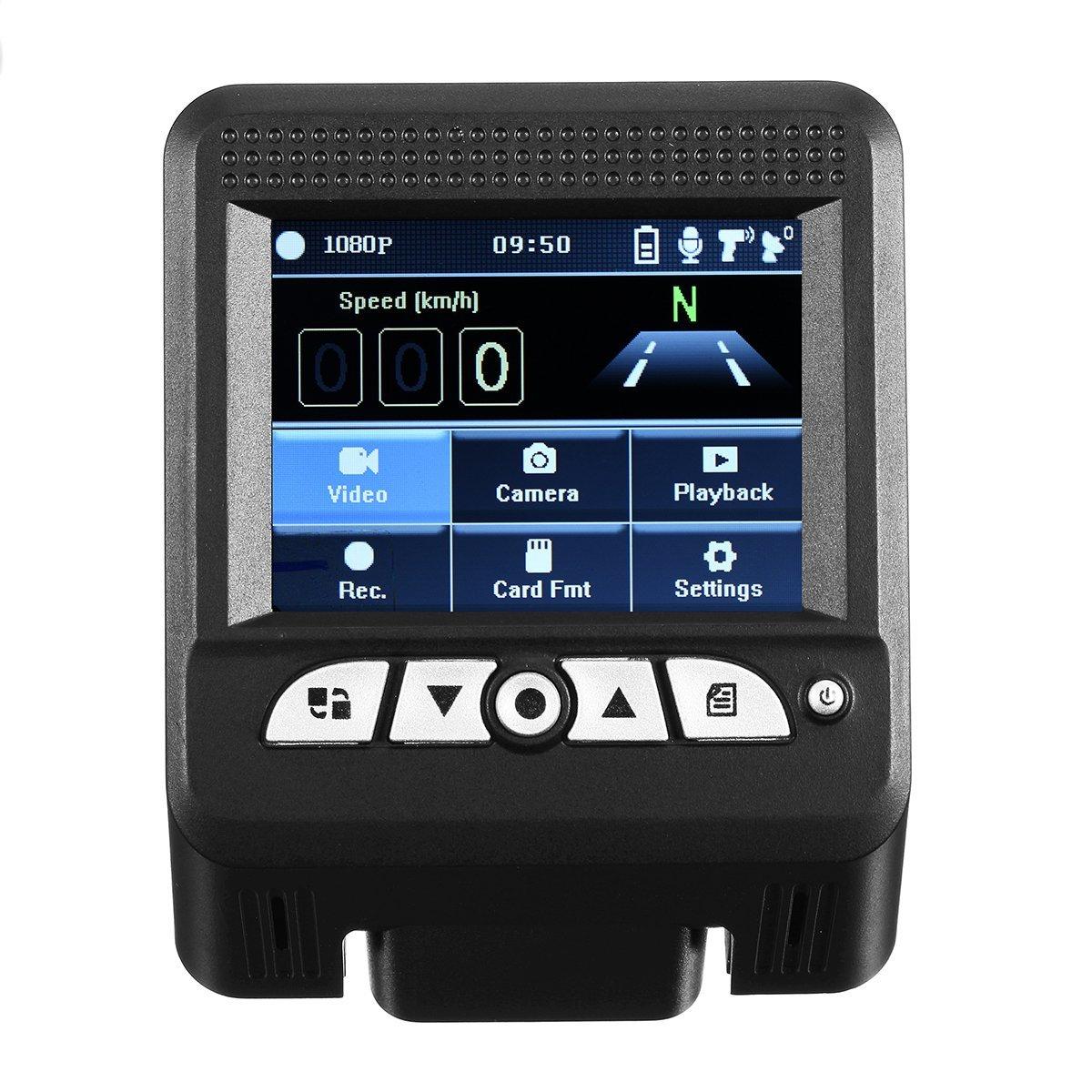 2 In 1 1080P Hidden Car DVR Detector Camera Video Recorder Dash Cam Radar Laser - Car DVRs - Car DVR Camera