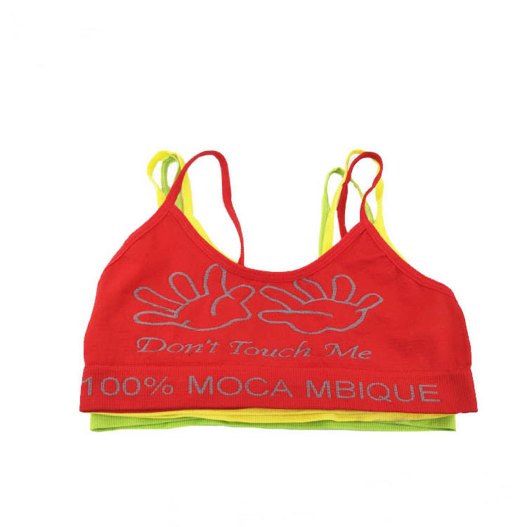 China Manufacturer Hot Selling Of Girls Seamless Comfortable Bra Underwear