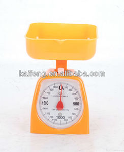 mechanical manual kitchen scale 3kg