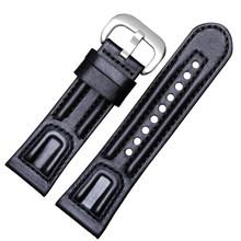 PEIYI ремешок для часов из натуральной кожи, сменные автоматические механические часы серии M, мужской модный браслет из коровьей кожи, 28 мм(Китай)