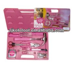 New Craftman Lady Tool Sets Toy And Scissors Pink Garden Tool Bag
