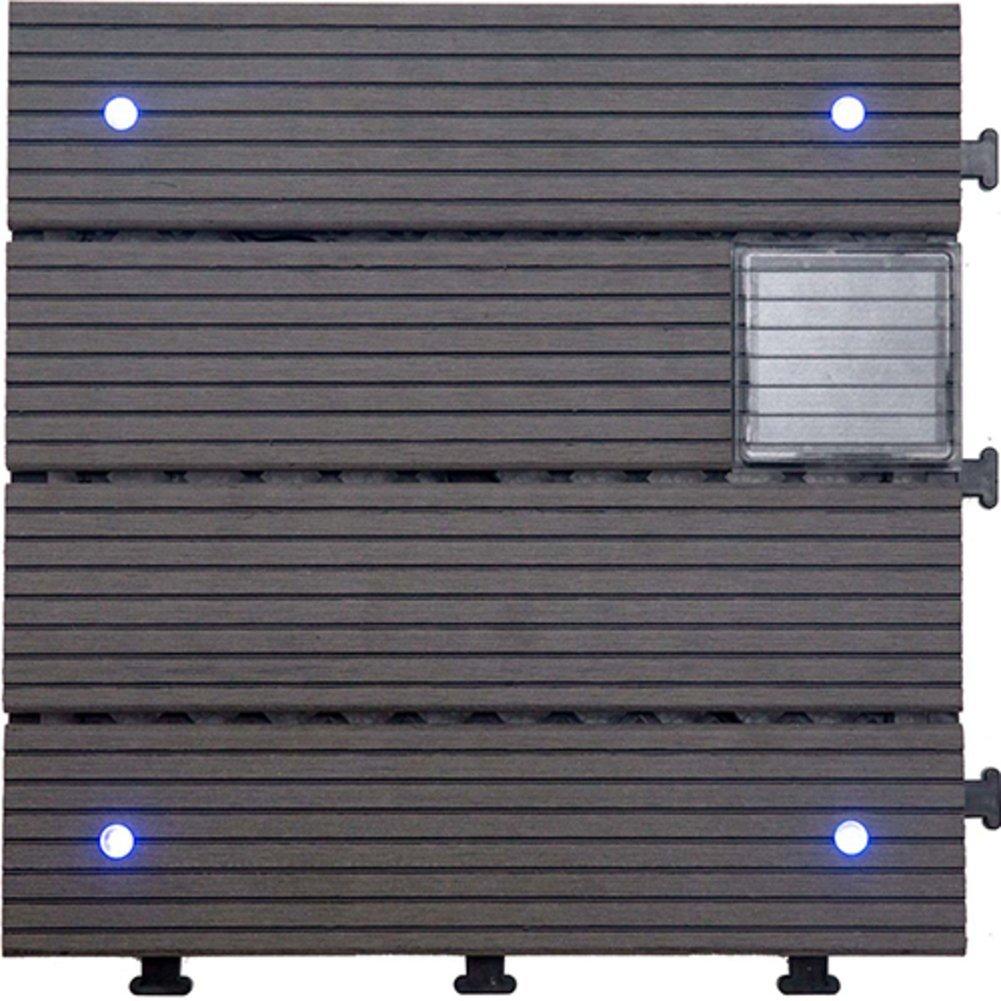 Diy flooring led mosaic flooring non-slip flooring [anticorrosive],environmental protection,outdoor,garden patio floor-F