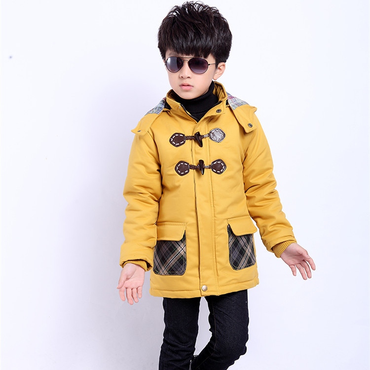 Hot children's clothing 2014 new autumn and winter fashion coats windbreaker boys ' jacket child free shipping
