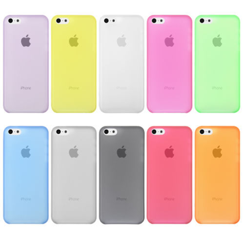 meet 0cfb6 65817 Phone Cover Cases For Apple iPhone5C iPhone 5C Case For Mobile Phone  Protection Shell Logo Clearly Ultra-thin 1PC Free Shipping
