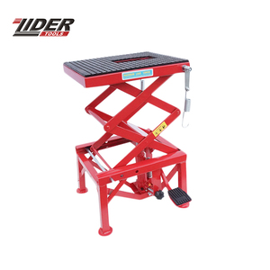 300Lbs Motorcycle Mini Scissor Lift Table Hydraulic Scissor
