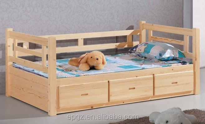 Letti In Legno Massello : Durevole moderna per adulti doppio letto a castello in legno