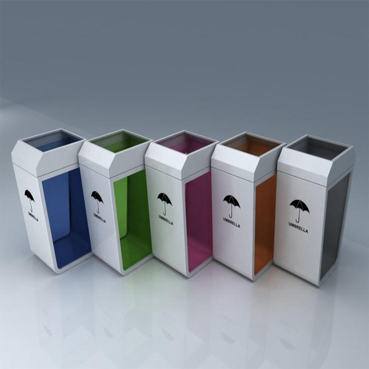 New design exquisite transparent acrylic indoor umbrella stand holder