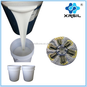 Casting resin liquid rtv-2 silicone rubber for polyester resin molds