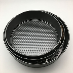 3pcs hot sell kitchenware Non-Stick Round Springform cake Pan Set with cheap price