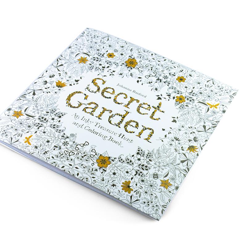 24 Pages Secret Garden Adult Coloring Book