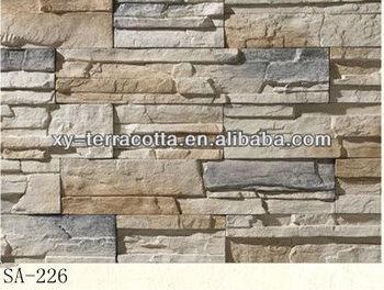 Foshan Exterior Decorative Wall Stone Indoor Artificial For Walls