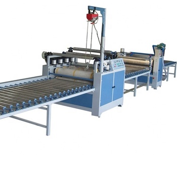 PVC film lamination production line with capacity 2 million sqm per year