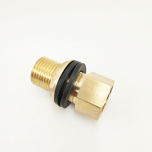 DZR Brass Outlet Water Tank Connectors Fitting