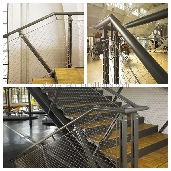Durable And Corrosion Resistant Stair Railing Safety Net(Manufactures)