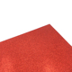 Custom red color glitter paper for sticker decoration craft