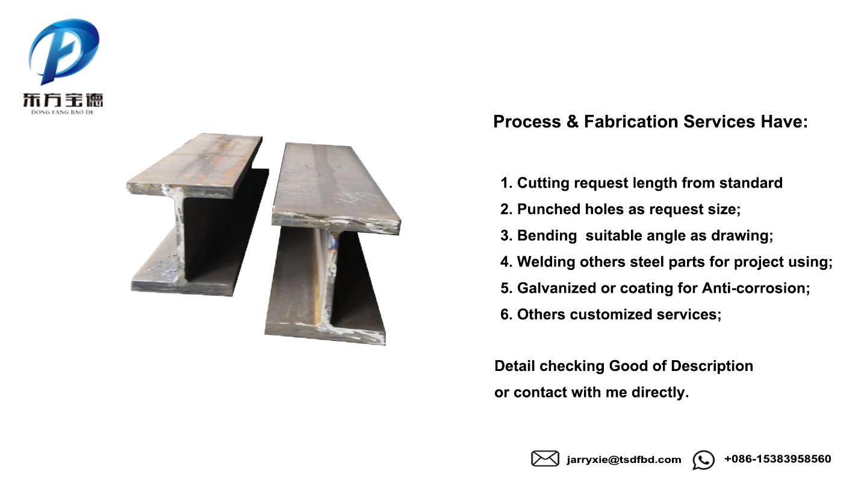 Thép vật liệu xây dựng kết cấu thép mạ kẽm kim loại hồ sơ