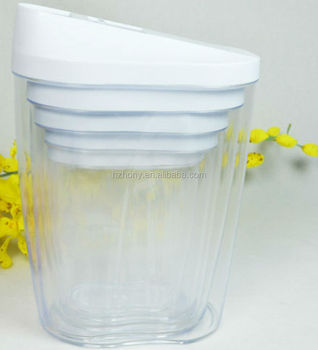 5 Pcs Pp Plastic Kitchen Plastic Container Box Set Clear Plastic
